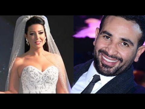 (صور) سمية الخشاب وأحمد سعد.. بعد سلسة الشائعات حول علاقة مشبوهة بينهم يتزوجان !!