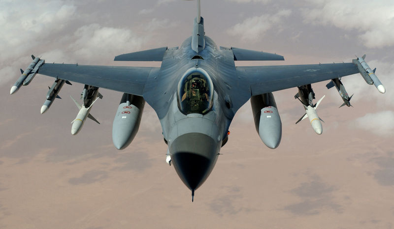 Washington delivered the first F16 aircraft in Iraq on Thursday