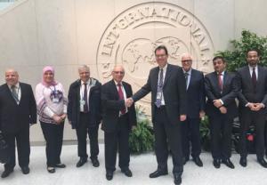 اختتام اجتماات النقد الدولي وتفائل بتجاوز العراق أزمته المالية