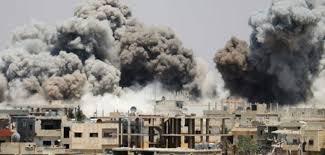 مصادر سورية: قصف مناطق تابعة للفصائل المسلحة فى درعا