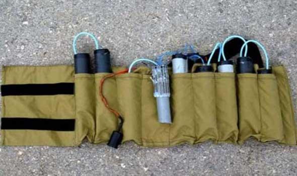 عمليات بغدا: العثور على حزام ناسف شمال بغداد وتسليمه للقوى المتواجدة
