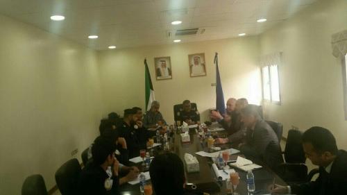 لقاء عراقي كويتي لمناقشة تطوير منفذ سفوان الحدودي