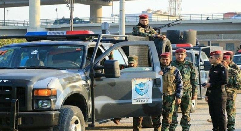 قيادة شرطة النجف توضح حقيقة سحب الحماية الأمنية من ساحة الصدرين