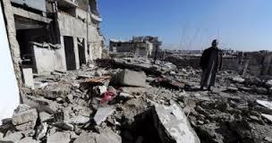 الجيش السورى يقصف مناطق محاصرة تسيطر عليها المعارضة فى حمص ودرعا