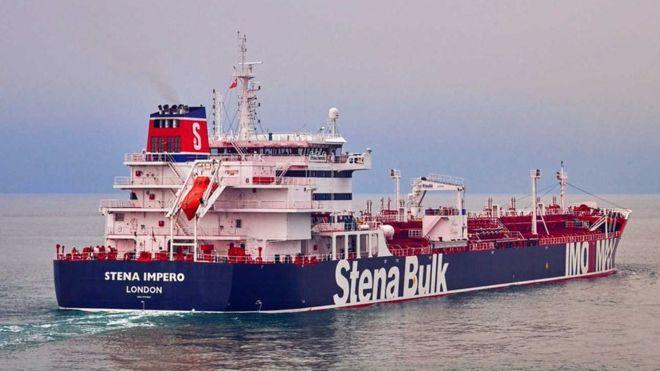 """لجنة """"كوبرا"""" تجتمع بشأن احتجاز إيران للناقلة """"ستينا إمبيرو"""""""
