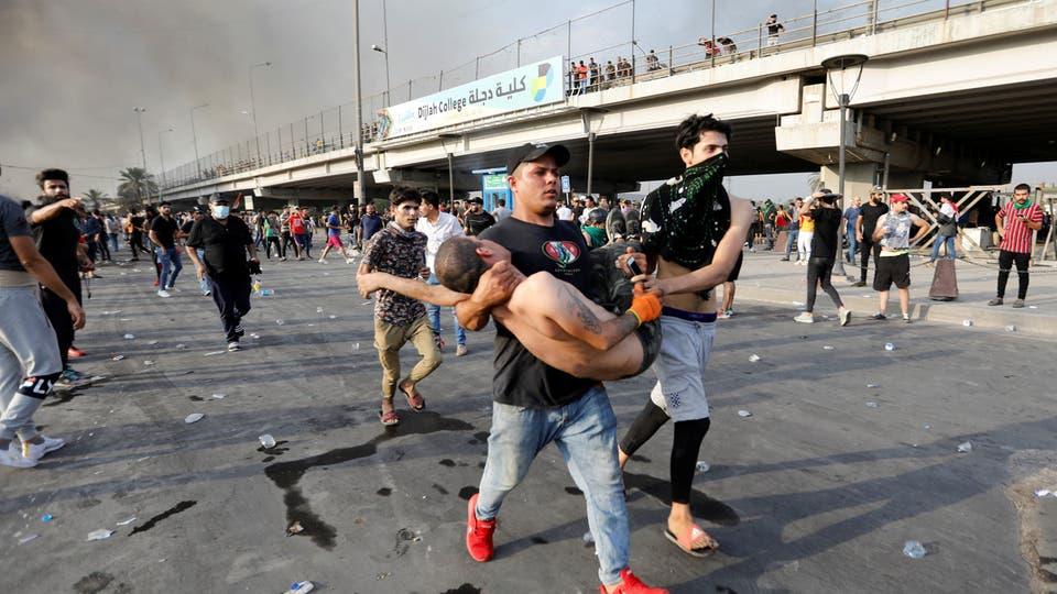 الصليب الأحمر: يجب إيقاف العنف الذي خلف مئات القتلى والاف الجرحى في العراق
