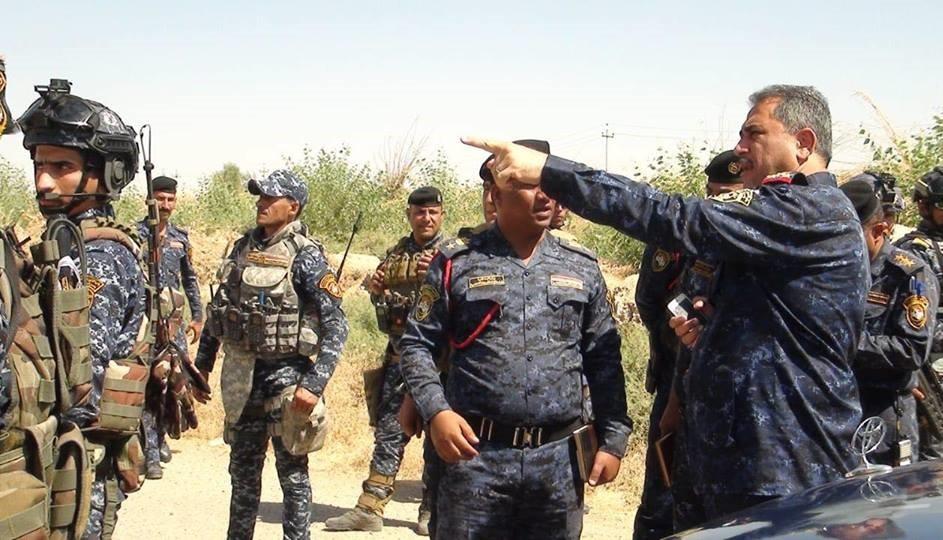 """الاتحادية تواصل عملية """"العزم الأبطال"""" في قرى قضاء الحويجة"""