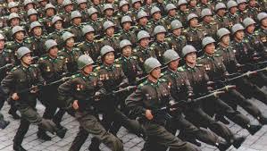 قرابة 3.5 مليون مواطن ينضمون للجيش الكوري لقتال الولايات المتحدة