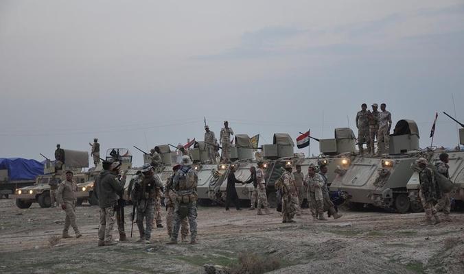 القوات المشتركة تخوض معارك على الجانب الشرقي باتجاه مدينة الموصل من ثلاثة محاور