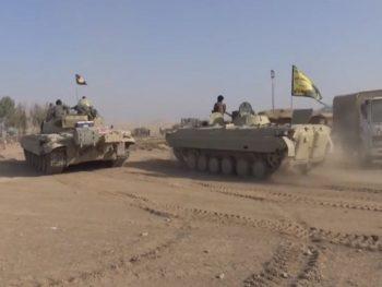 سيطرة القوات الامنية والحشد الشعبي على سجن بادوش في الساحل الايمن
