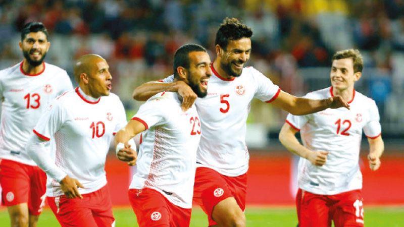 العراق يخسر أمام تونس بثنائية نظيفة