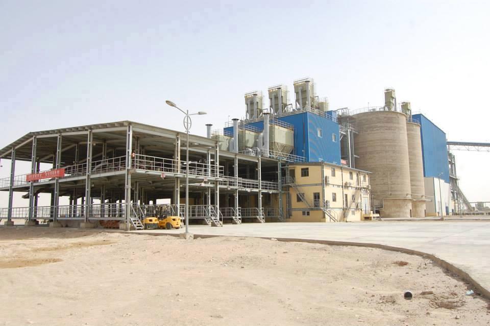 افتتاح محطة لانتاج الطاقة الكهربائية بطاقة 12 ميغا واط في معمل اسمنت السماوة