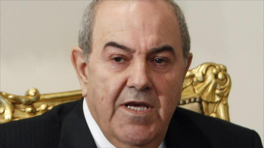 علاوي يدعو لانشاء تحالف وطني عراقي شامل