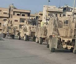 سانا: 200 مدرعة اميركية دخلت سوريا قادمة من العراق
