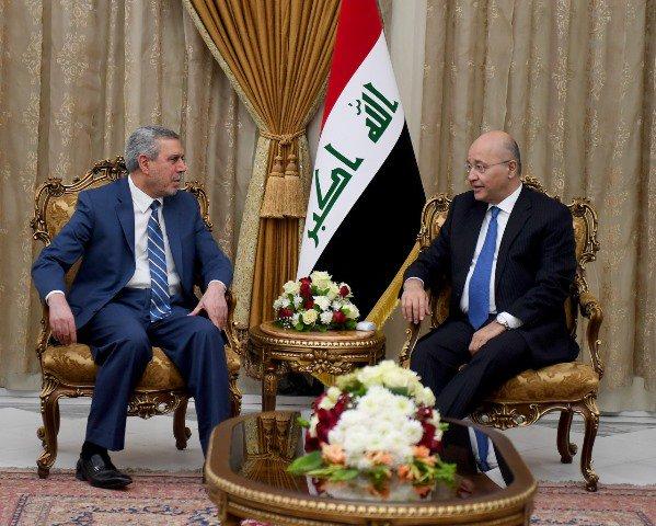 رئيس الجمهورية يؤكد أهمية اعتماد الحوار الصريح لمعالجة الاشكاليات بين الفرقاء السياسيين