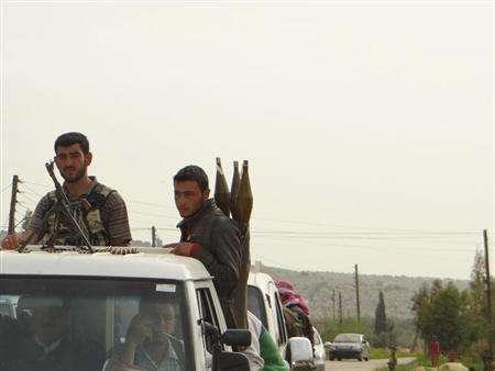 المعارضة السورية تقول انها سيطرت على موقع قرب الاردن