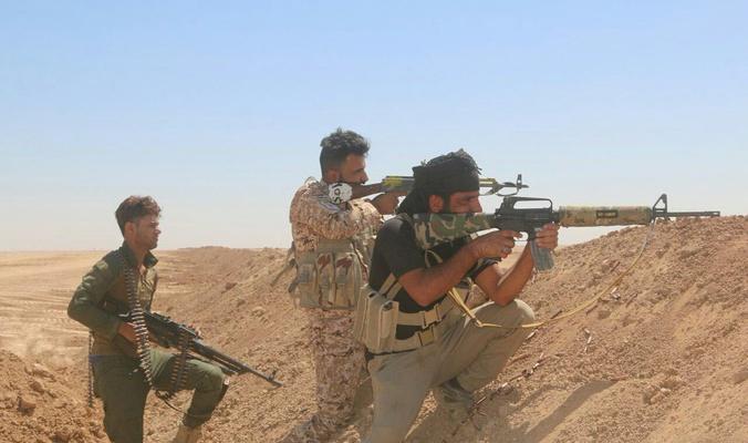 صد تعرض لداعش بمنطقة السيد غريب شمال غرب قضاء الدجيل