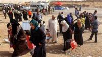 عوائل غربي تكريت تناشد الحكومة بوقف القصف وتأمين خروجها