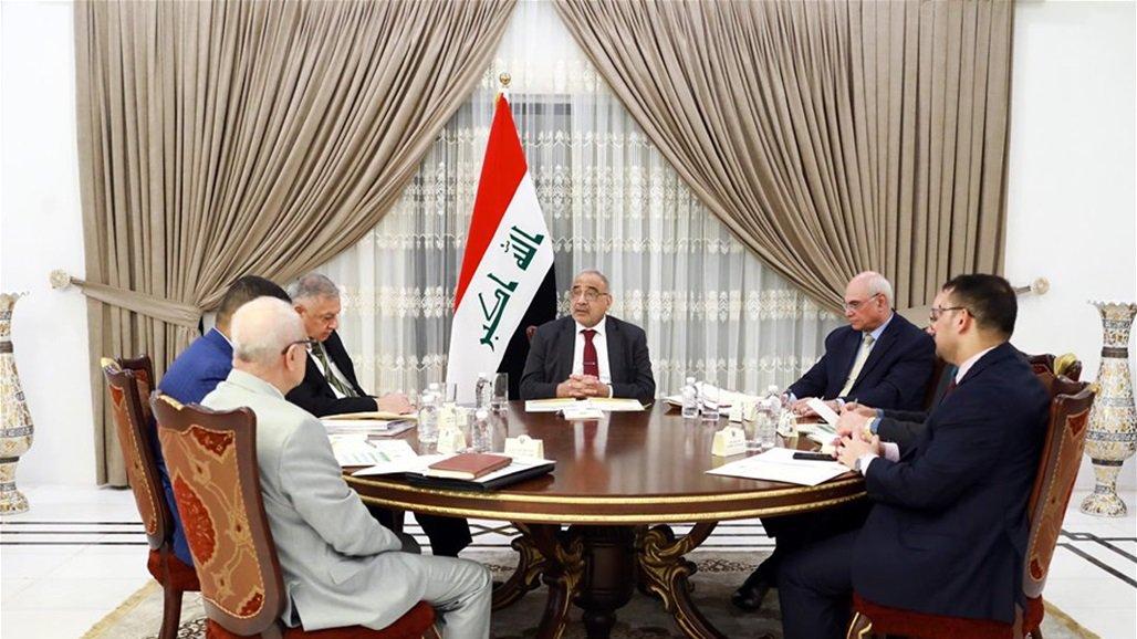 عبد المهدي يوجه بضرورة التزام الغضبان بتنفيذ التوصيات الخاصة بملف تهريب النفط