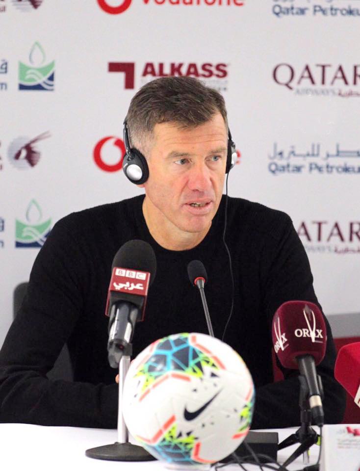 مدرب اسود الرافدين: قهرنا جميع الصعوبات وسنلعب بأسلوب مختلف أمام الإمارات