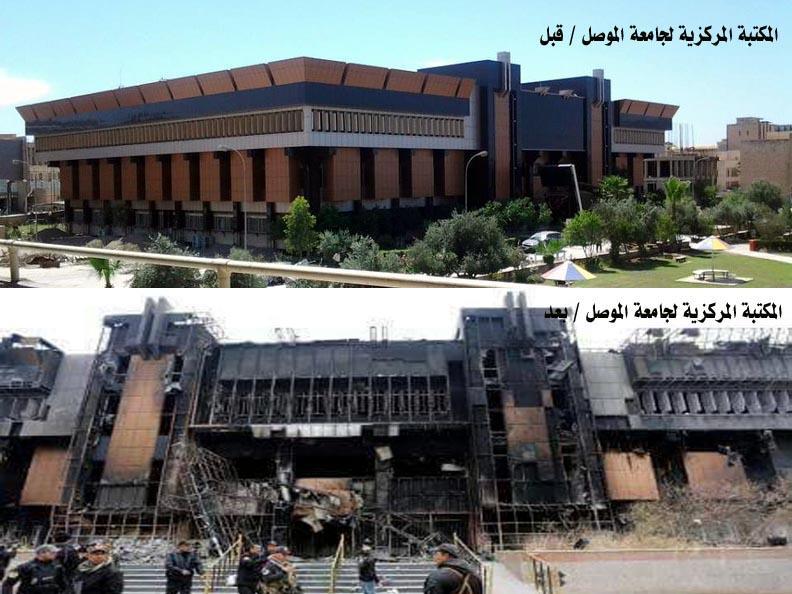 حمودي يطلق حملة وطنية لإحياء المكتبة المركزية لجامعة الموصل