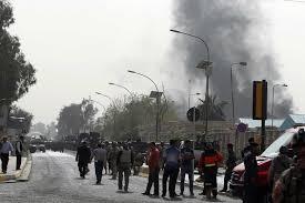 اصابة مدنيين بانفجار عبوة لاصقة وسط مدينة الرمادي
