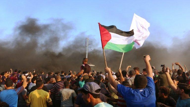حماس تنشر عناصرها الأمنية على الحدود مع إسرائيل لضبط المتظاهرين