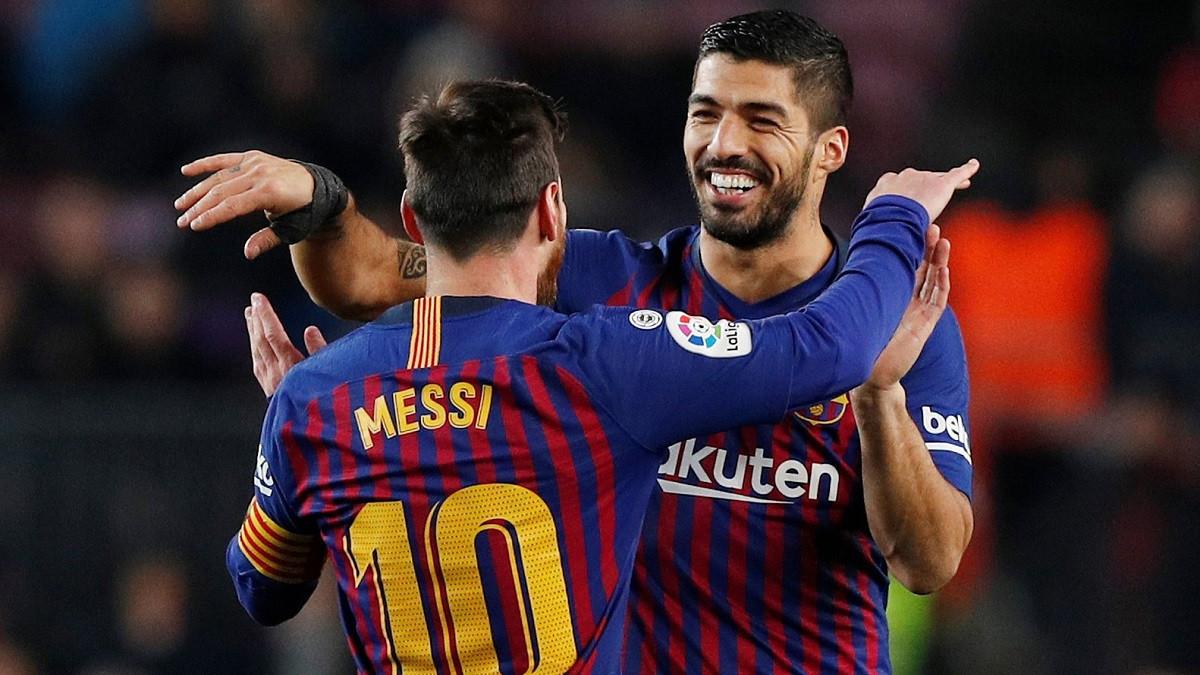 ميسي يودع سواريز برسالة هاجم بها برشلونة بشدة