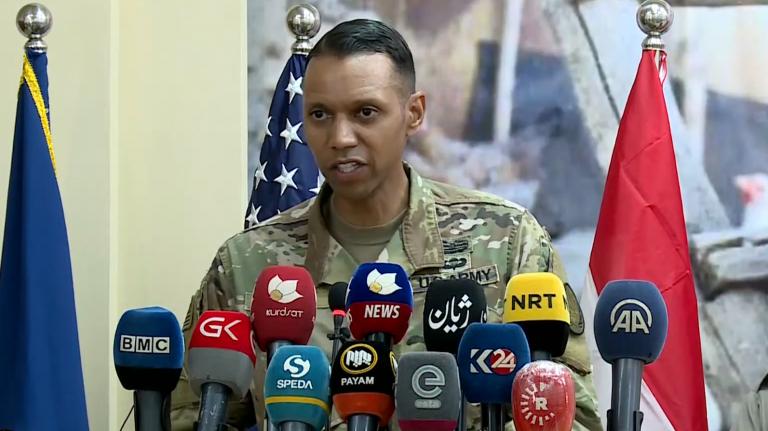 المتحدث باسم التحالف الدولي ينفي وقوع هجوم على الحدود العراقية الكويتية
