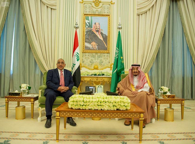 """""""واس"""": عبد المهدي أكد اهمية التعاون مع الرياض في جميع المجالات"""