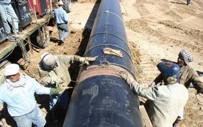 انتهاء الدراسات الفنية لمشروع الانبوب النفطي بين العراق والاردن والكشف عن كلفته