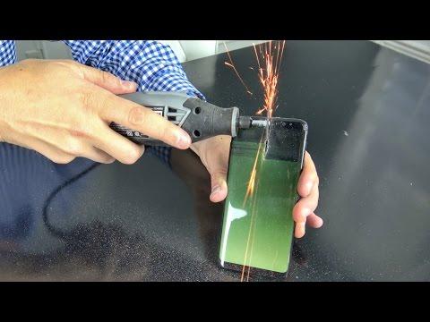 بطارية جلاكسى S8 لا تنفجر حتى عند طعنها بالسكين