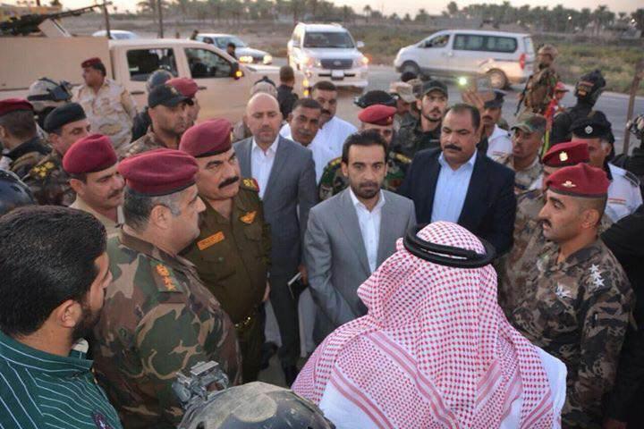 محافظ الانبار يتفقد الدوائر الخدمية في قضاء عامرية الصمود