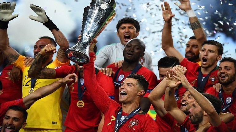 البرتغال تهزم هولندا وتحصد أول ألقاب دوري الأمم الأوروبية