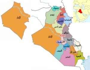 العمليات المشتركة: ضبط معسكر تابع للجماعات الارهابية والعثور على عبوات ناسفة في الانبار