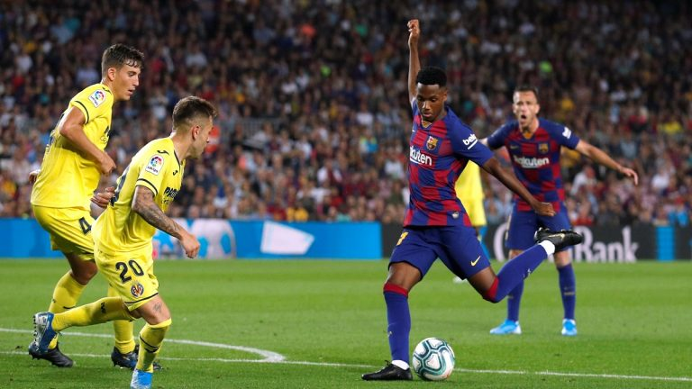 مورينو يضم أنسو فاتي لقائمة المنتخب الإسباني الأول
