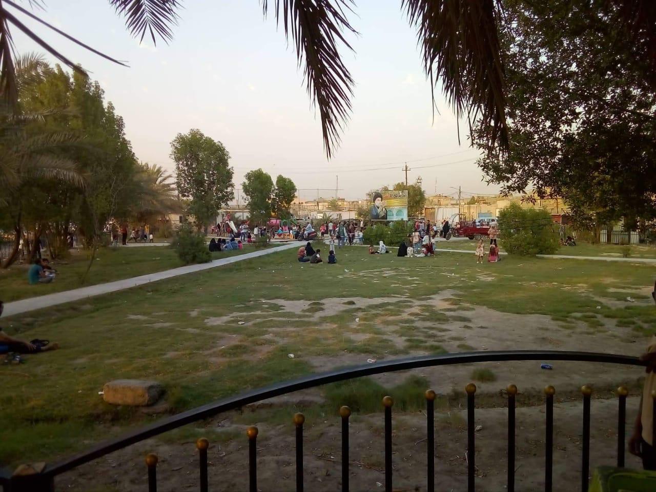حدائق ومتنزهات بغداد تستقبل آلاف العوائل خلال ايّام العيد