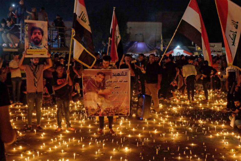 ضحايا تشرين بلا حقوق وتقاعد للموظفين