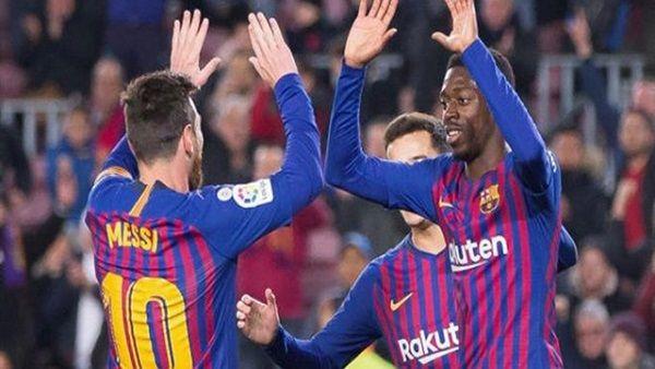 برشلونة يؤمن صدارته لليغا بفوز صعب على بلد الوليد
