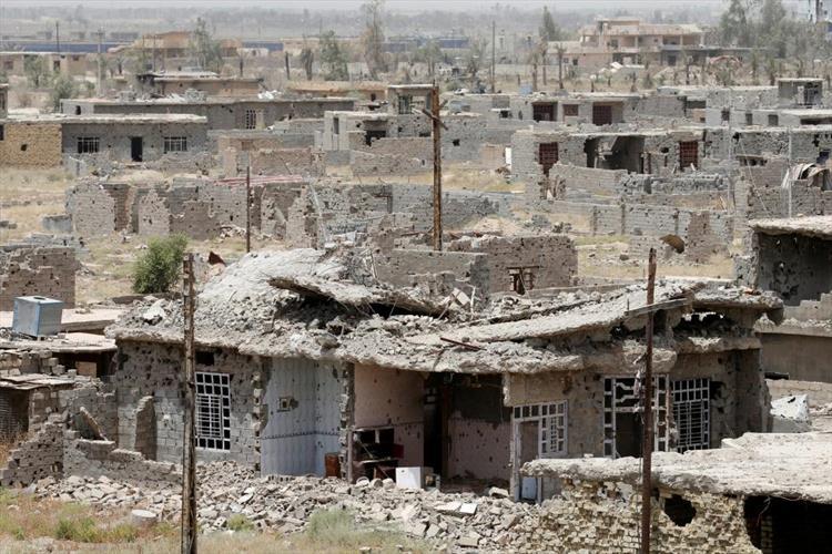 """مدينة المآذن والمساجد""""الفلوجة"""" تتحول الي مدينة أشباح بعد سيطرة الميليشيات"""
