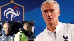 مدرب فرنسا يصدم زيدان بشأن عودة بنزيما إلى المنتخب