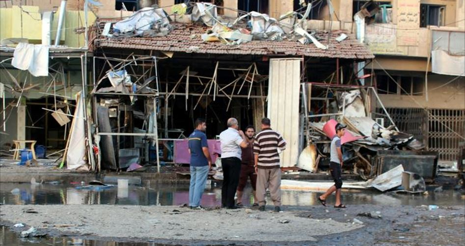 مقتل واصابة 19 مدنيا في انفجارين وقعا جنوب وشرقي بغداد