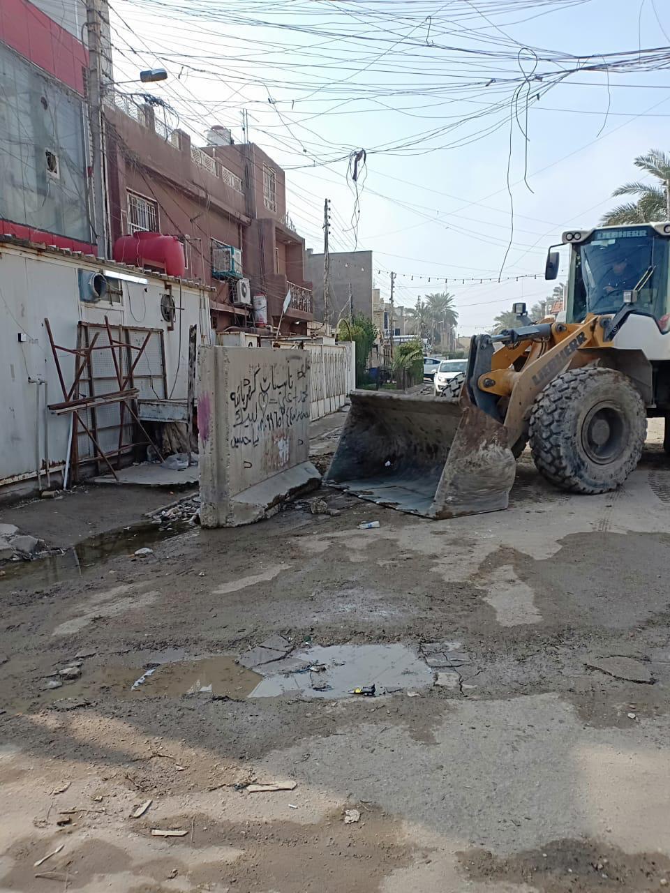 إفتتاح 13 زقاقاً مغلقاً منذ 10 سنوات في بغداد