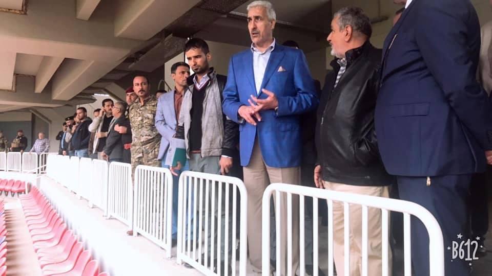 """وزير الشباب والرياضة يؤكد أستعداد الوزارة لتلبية متطلبات """"فيفا"""" الخاصة بملعب النجف"""