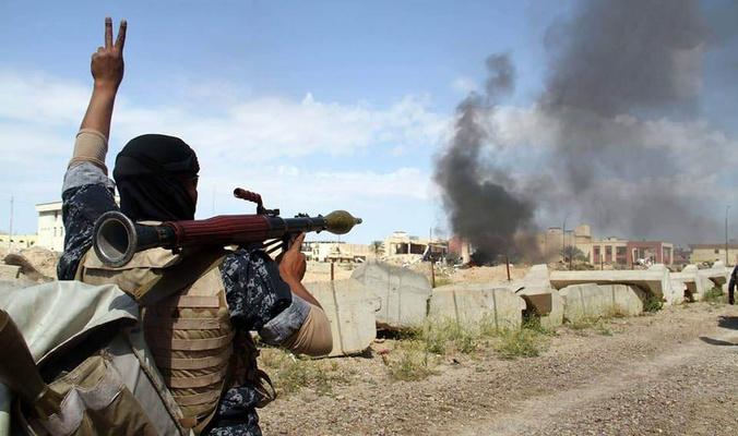 تدمير  ست مضافات لعصابات داعش في ديالى