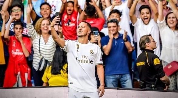 هازارد: اللعب لريال مدريد كان حلمي منذ الطفولة