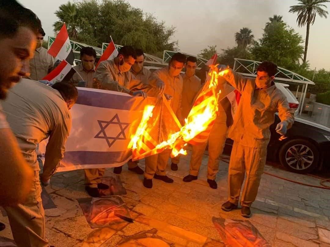 باحث: إحراق صور الكاظمي اثبت أن حملة السلاح هم أصحاب القرار السياسي والعسكري في العراق