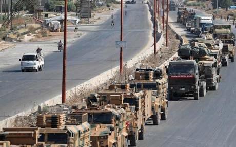 الدفاع التركية تعلن مقتل وإصابة 15 مدنياً باستهداف رتل عسكري لها في إدلب