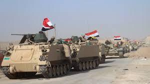 تحرير منطقة حاوي الجوسق في الساحل الأيمن لمدينة الموصل