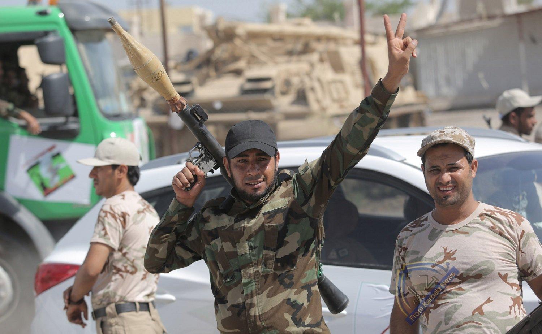 الحشد الشعبي يصد هجوما لداعش الإجرامي قرب قضاء الحويجة
